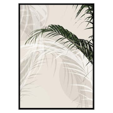 Poster Gallerix Abstract Palm Leaves No1