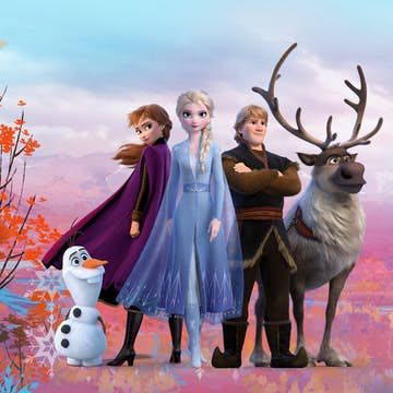 Tapet Komar Disney Frozen 2 Iconic