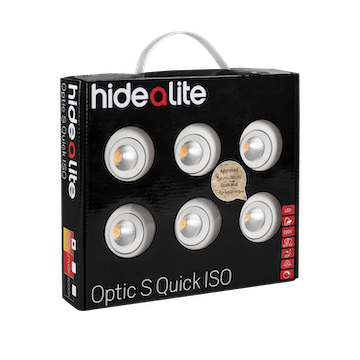 LED-downlight Hide-a-lite Optic S Quick ISO 6-pack