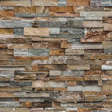 Tapet Idealdecor Colorful Stone Wall